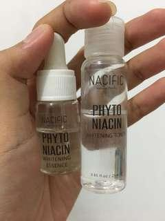 Natural Pacific Whitening Essence&Toner