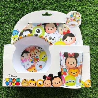 🚚 BNIB Disney Tsum Tsum 3-piece feeding set