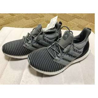 size 40 d1107 4f677 Brand new Adidas X Undefeated Ultraboost Rubber-Trimmed Primeknit Sneakers  (Grey, UK7