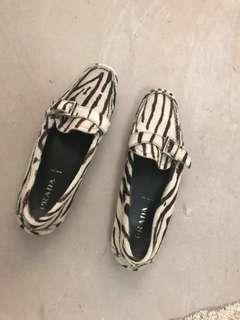 Prada Women car shoe loafers