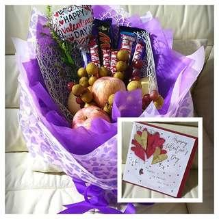 Fruits and Chocolates Hand Bouquet