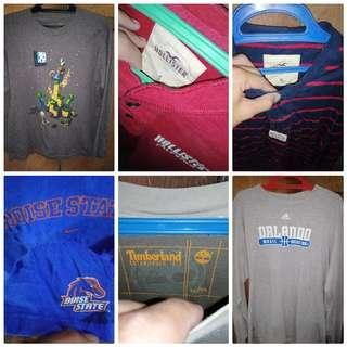 Sweatshirts P230 all in good condition