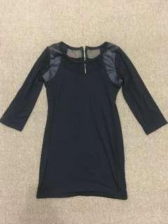 Black Top Dress