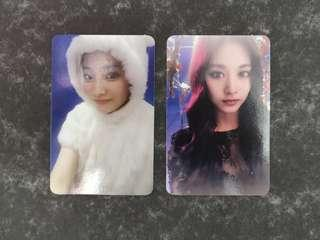 WTS TWICE Twicecoaster Lane 1 and Page Two photocard