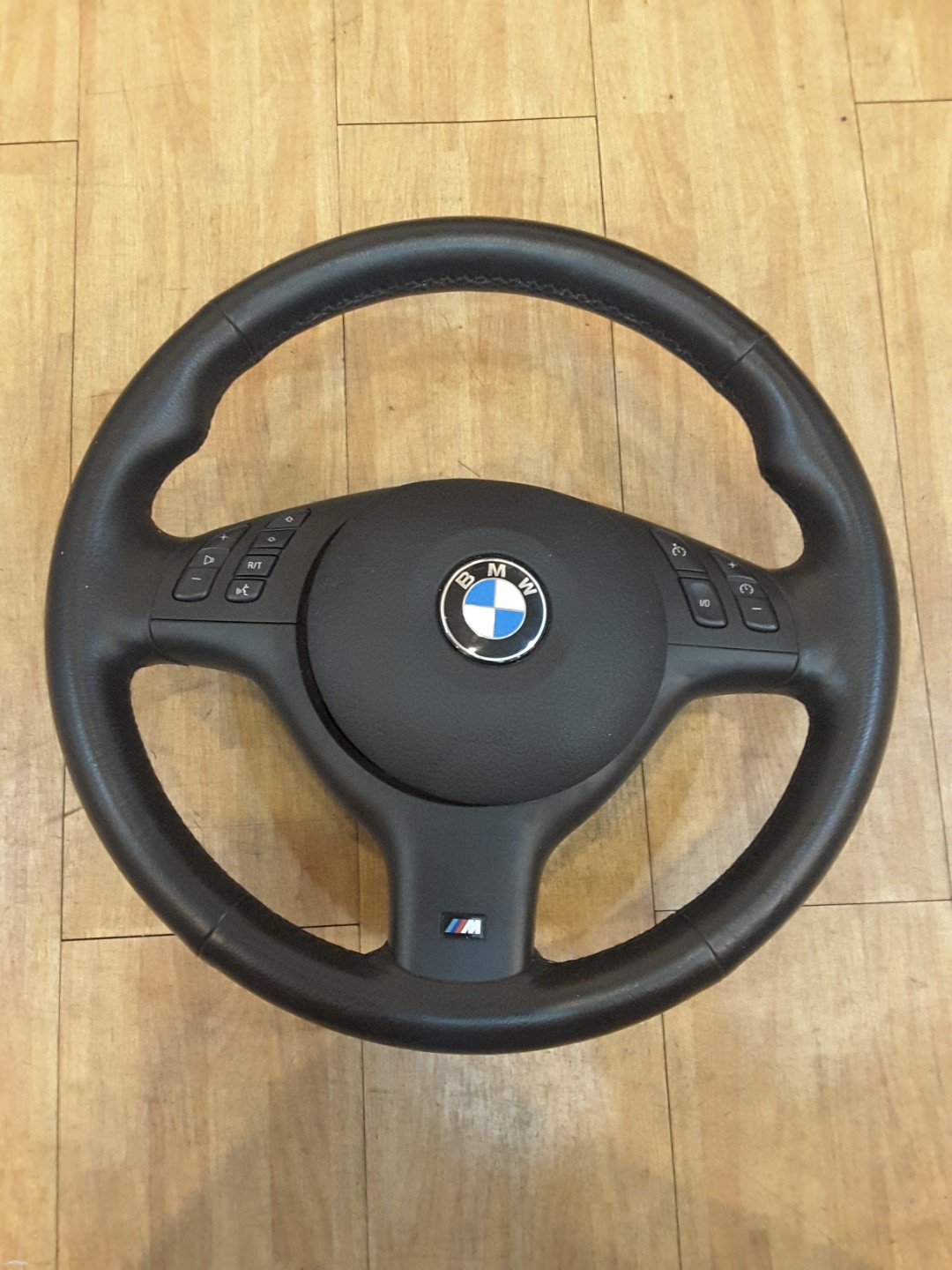 Bmw E46 M Leather Steering Wheel With Airbag