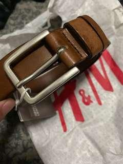 BN HnM Brown Leather Belt