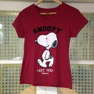 Peanuts Snoopy Red Shirt (L)
