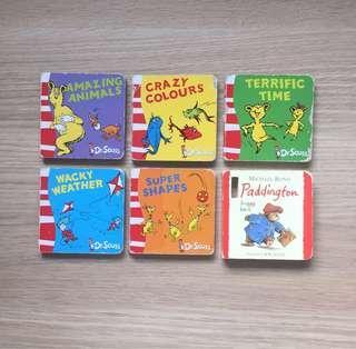 Dr Suess board mini books