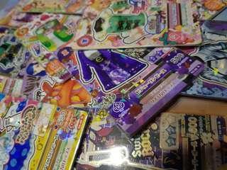 大量絕版Aikatsu R card