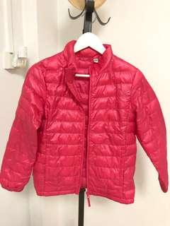 🚚 Kids' Hot Pink UNIQLO Winter Jacket