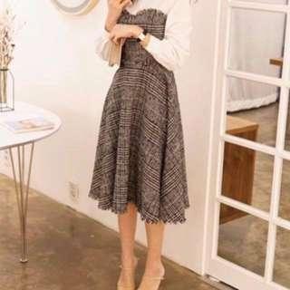 韓國Dearly tweed dress 連衣裙