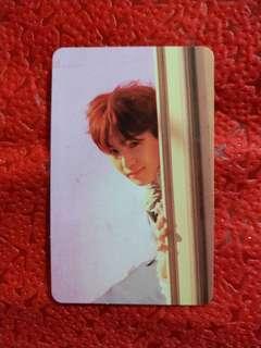 BTS Love Yourself Tear E Official Photocard - Suga / Yoongi
