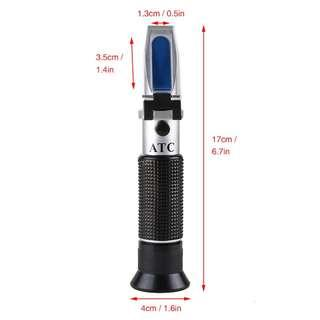 2622. Professional Wine Refractometer for Beer Wort and Wine Salinity Water (Beer/Wine Refractometers)