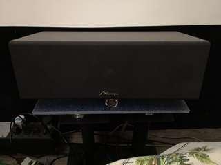 🚚 Mirage center speaker