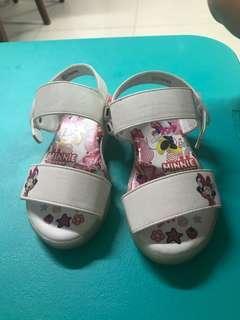 White Sandal minnie mouse