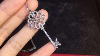 Tiffany diamond key