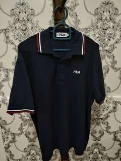 Fila collar Tshirt
