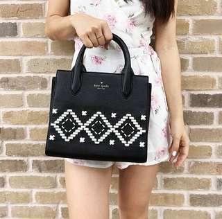 <<KATESPADE>> handbag black