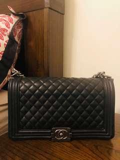 Chanel Black Boy Bag