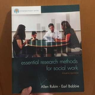 🚚 Essential Research Methods for Social Work 社會工作研究法
