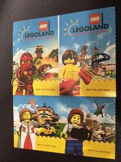 Legoland Waterpark Tickets 2 adults+ 2 children