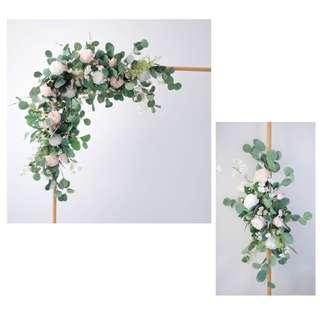 外租 wedding arch. 婚禮佈置 花拱門 DIY wedding decor