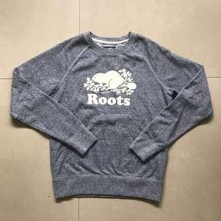 🚚 Roots xs 衛衣 圓領上衣