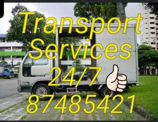 Transport mover delivery services