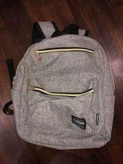 options grey school bag