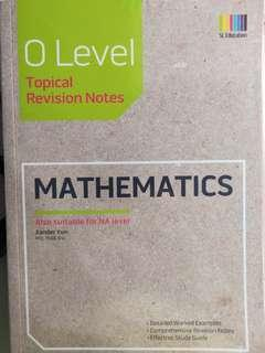 emath guidebook for o's and n's