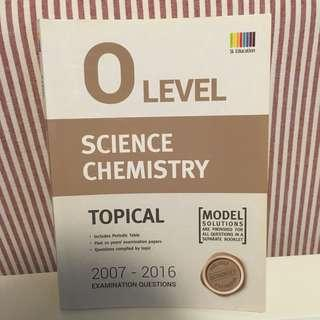 O Level Science Chemistry Topical TYS 2007-2016
