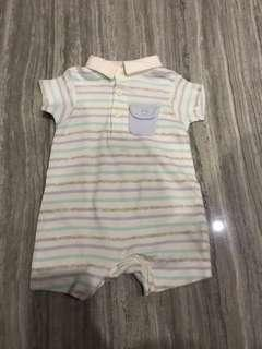 Jumper overall baby boy laki mothercare