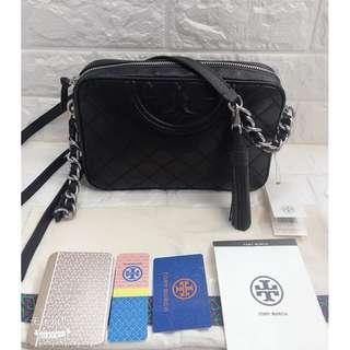 TORY BURCH Fleming Distressed Crossbody