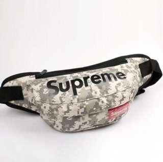 🚚 🚨INSTOCK‼️ Supreme Army Green Camo Crossbody Waist Pouch Sling Bag (STILL HAVE 3 COLORS!)