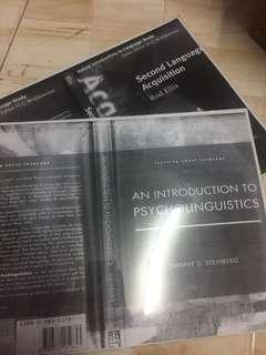 Psycholinguistic Books