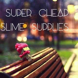 Slime supplies and slime grab bag