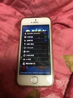🚚 iPhone 5s 16GB 9成新寶可夢飛人機(女用機)