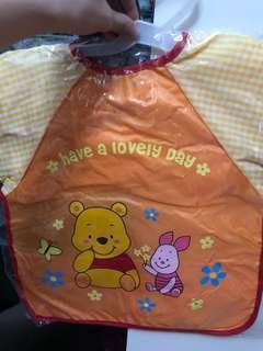 Winnie The Pooh 嬰兒防水餐衣