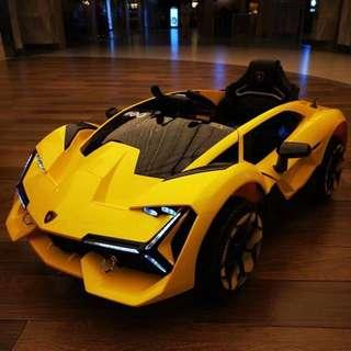 New Lamborghini Vertical Door Electric Ride On Toy Car For Kids