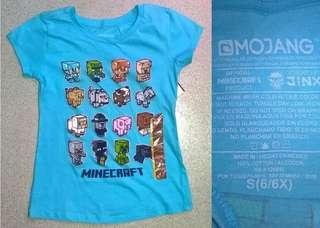 Minecraft Teens Tops (B and G)