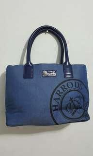 Auth Harrods London Bag for SALE
