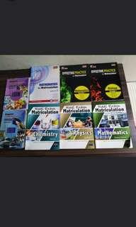 MATRICULATION /MATRIKULASI SEMESTER 1 (New syllabus)