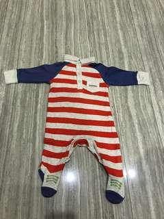 Bodysuit jumper mothercare boy laki
