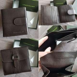 Longchamp wallet woman original brown
