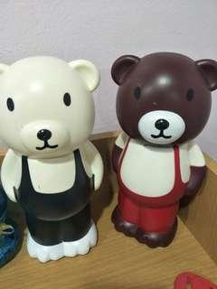 Bear money box