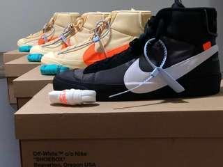 Off White x Nike Blazer Orange