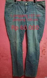 celana jeans wanita big size