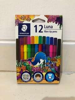 Staedtler Luna Fibe Tip Pens