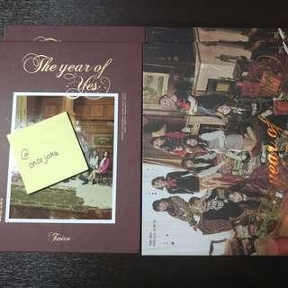 Twice - The year of Yes album (unsealed)