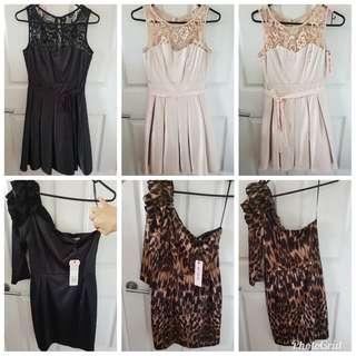 REVIEW DRESSES BRAND NEW WITH TAGS